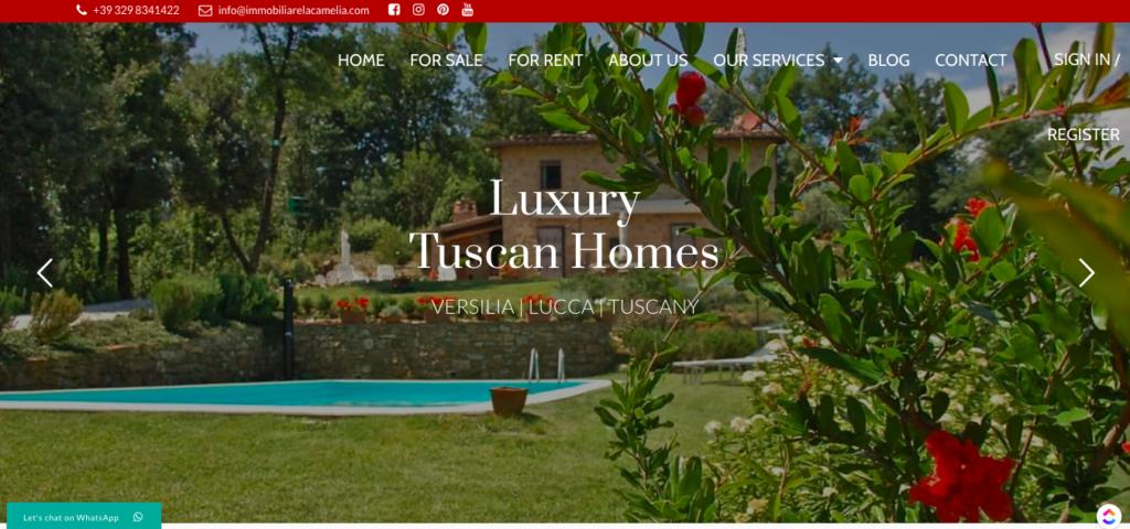 Tuscan Luxury properties