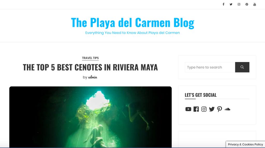 small business website design packages Playa del Carmen blog